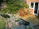 Pond and Decking Photo